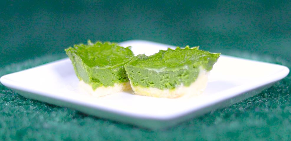 ひんやりドルチェ 柚子抹茶ショコラ 国産柚子&志布志市産茶葉使用 モス モスバーガー MOS