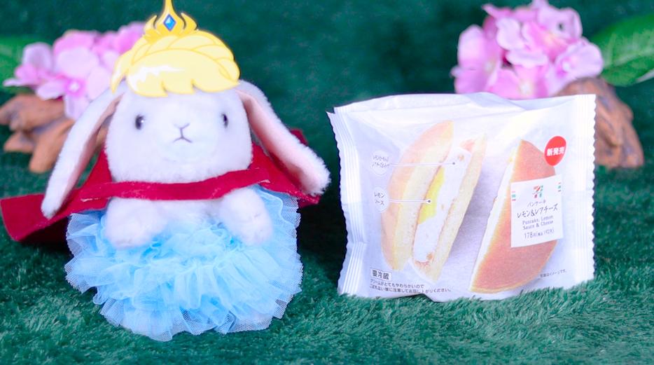 パンケーキ レモン&レアチーズ セブン セブンイレブン コンビニスイーツ セブンスイーツ スイーツ
