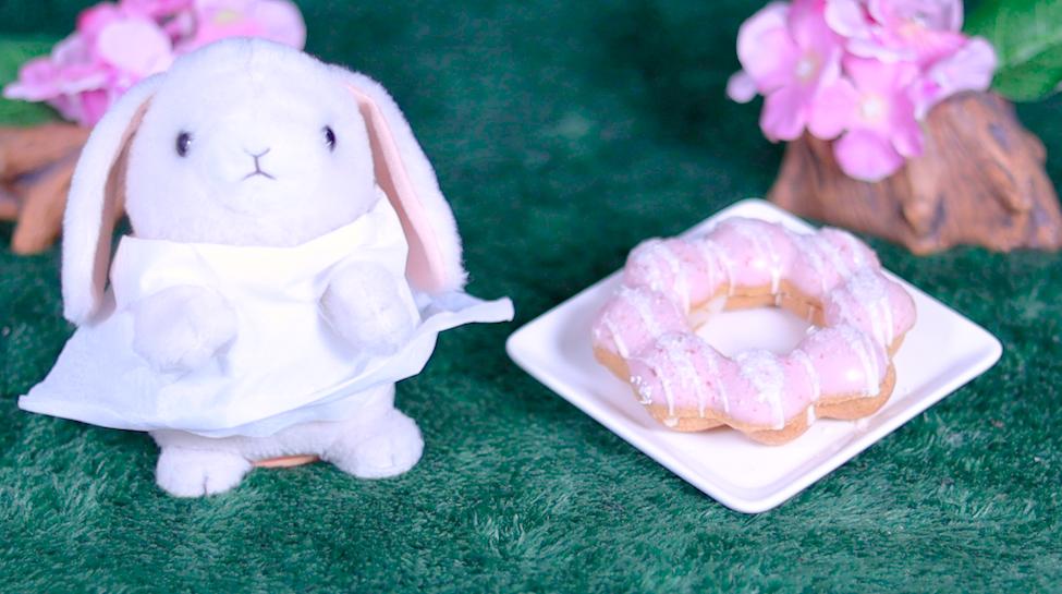 ポン・デ・いちごもちクリーム もちクリームドーナツコレクション ミスド misterdonut ミスタードーナツ スイーツ ドーナツ