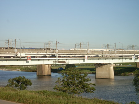 戸田橋遠景。