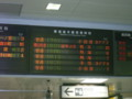 東京駅の発車時刻表