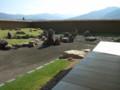 発掘をもとにした復元庭園