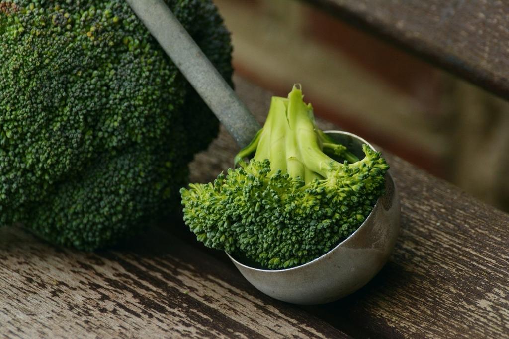 医者は自分の健康のためにブロッコリーを食べている