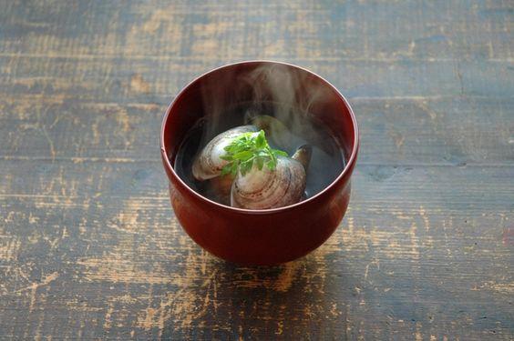 和食のお吸い物の正しい食べ方