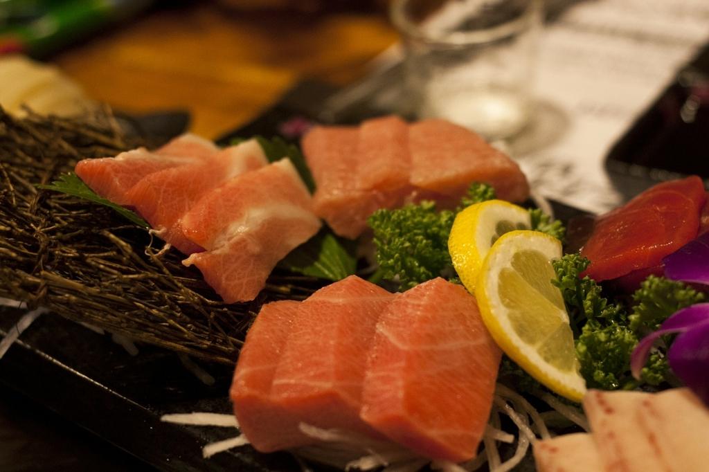 和食のお刺身の正しい食べ方