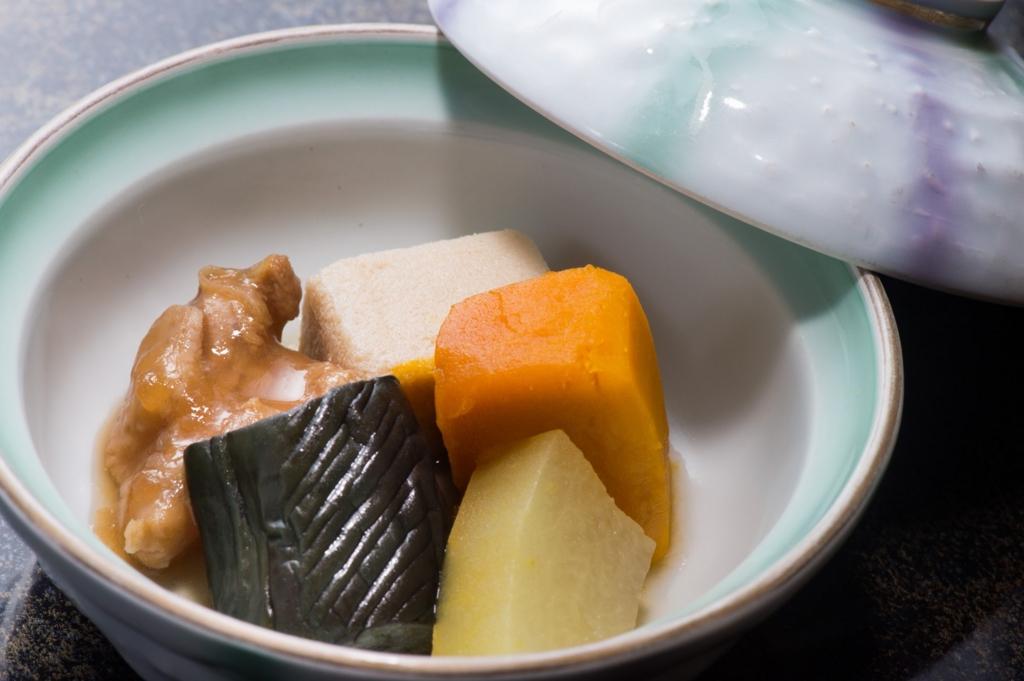 和食の煮物の正しい食べ方