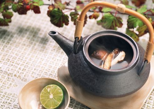 和食の土瓶蒸しの正しい食べ方