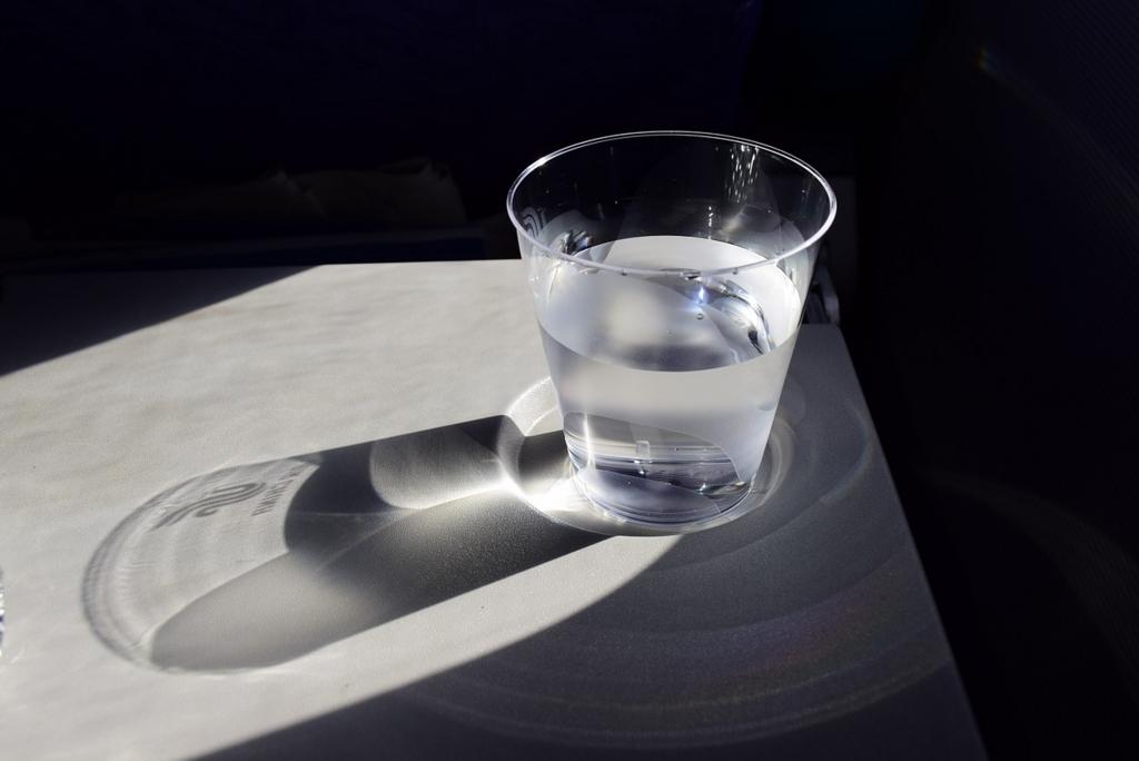 水は常温で飲む