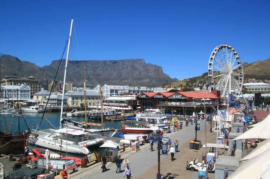 南アフリカの貧弱な国内回線