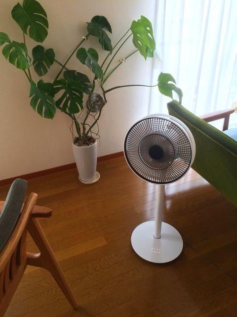 高級扇風機は風が滑らか