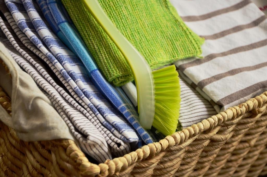古着や古いタオルの再利用で雑巾をつくる