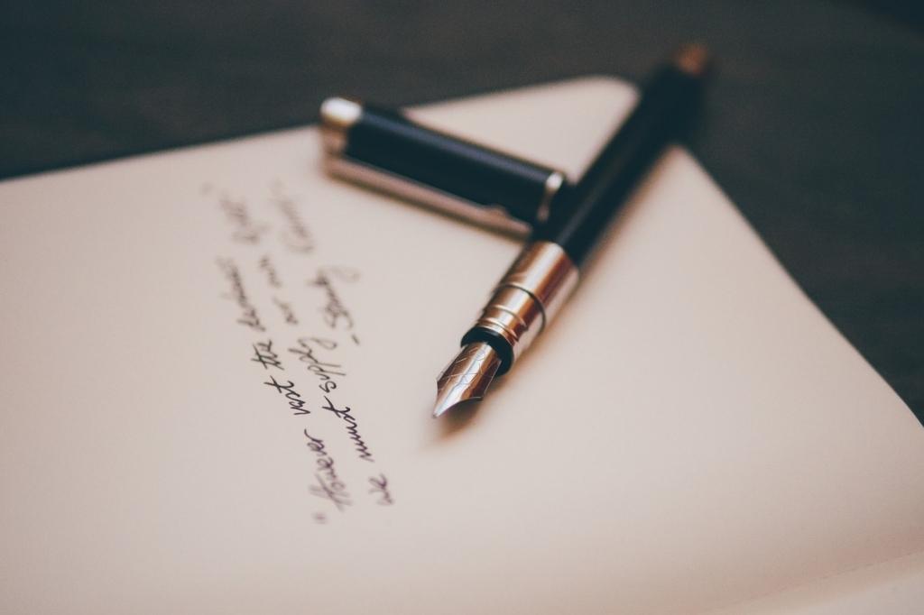 ノートに書き出すと心が落ち着く