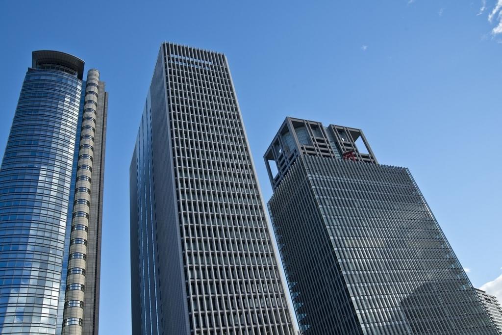 ビル街の紫外線が意外と多い