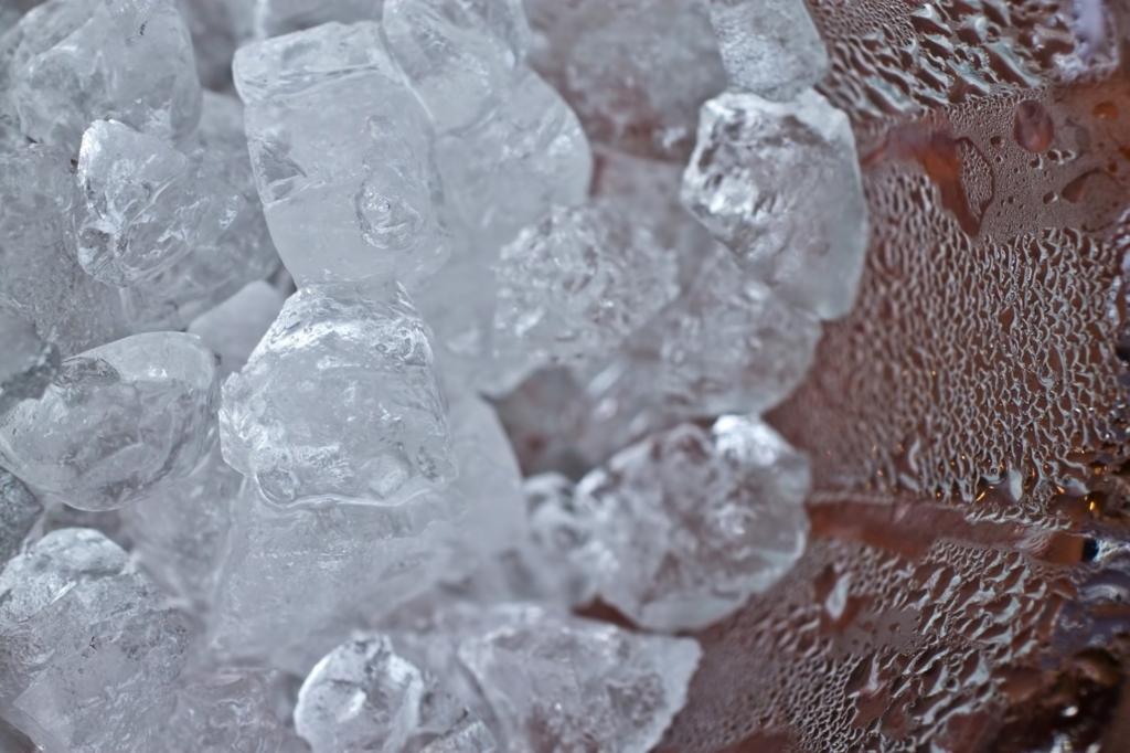 氷を入れてご飯を炊くと美味しくなる