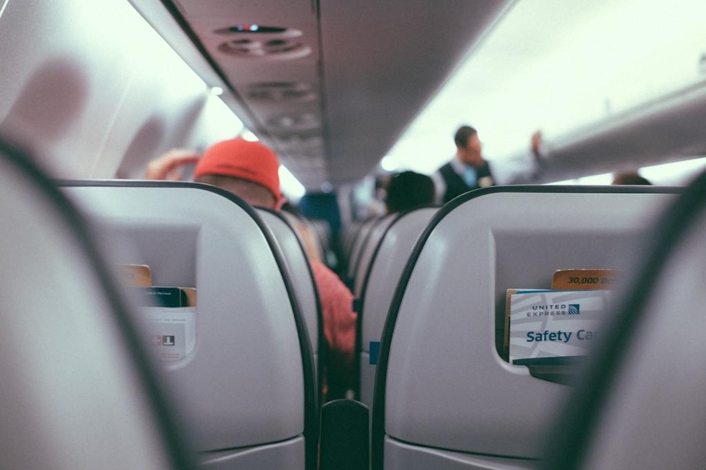 飛行機の中では新しいことは避けた方が良い