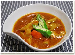 寒い季節は根菜のスープカレーを食べよう