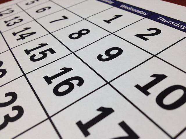 目標達成のために早い人は10月から準備している