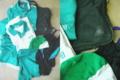 四条畷学園高等学校の学生体操衣類