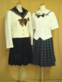 岡山南高等学校の制服