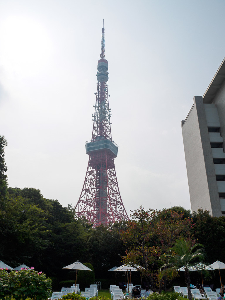 東京プリンスホテル プール