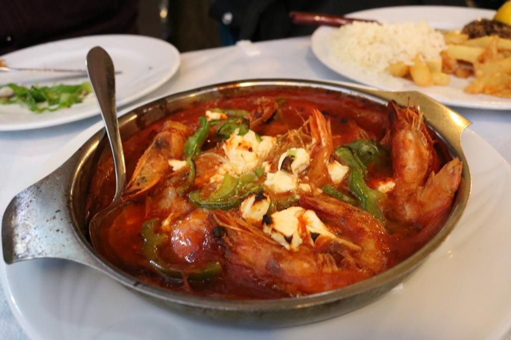 ギリシャでの食事の写真
