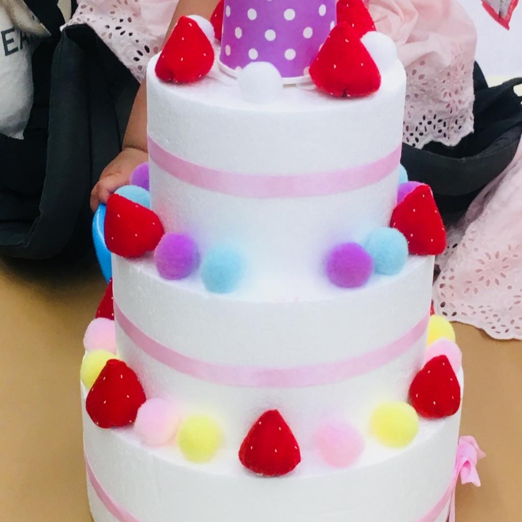 フェルトケーキの写真