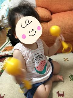 赤ちゃんの頃からプレイアロングが大好きな1歳娘