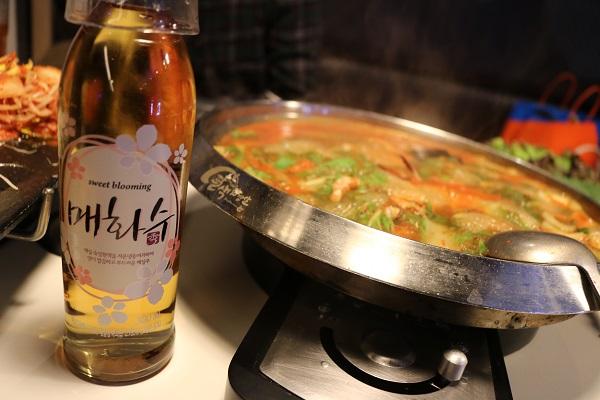 八色サムギョプサルの梅酒