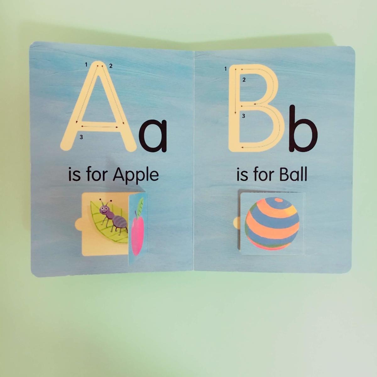 アルファベットが覚えられる英語絵本