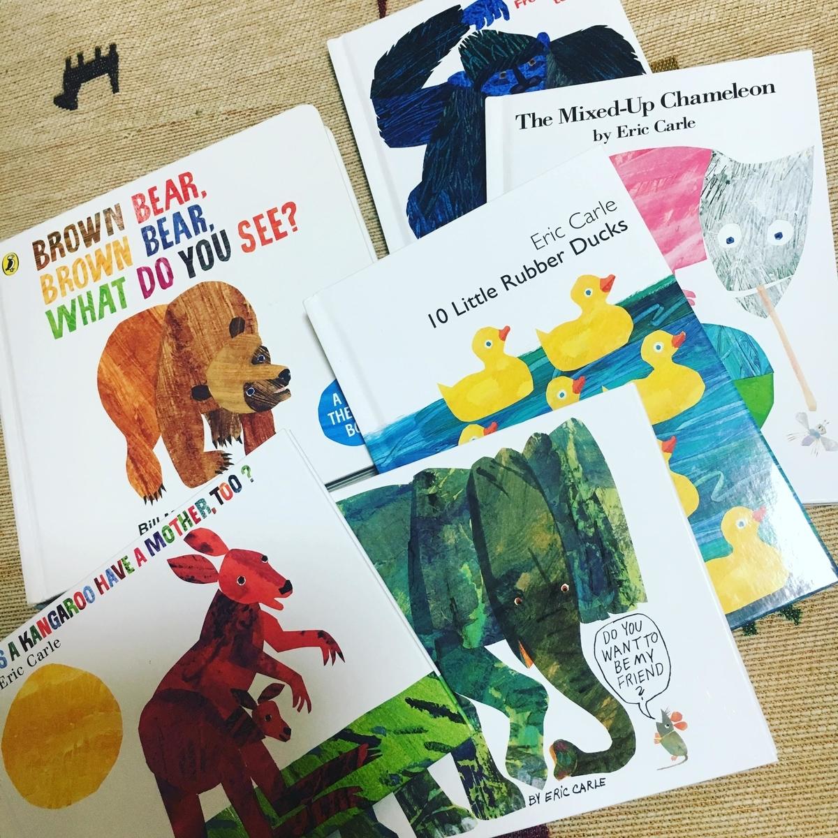 小さい子どもにおすすめの英語絵本