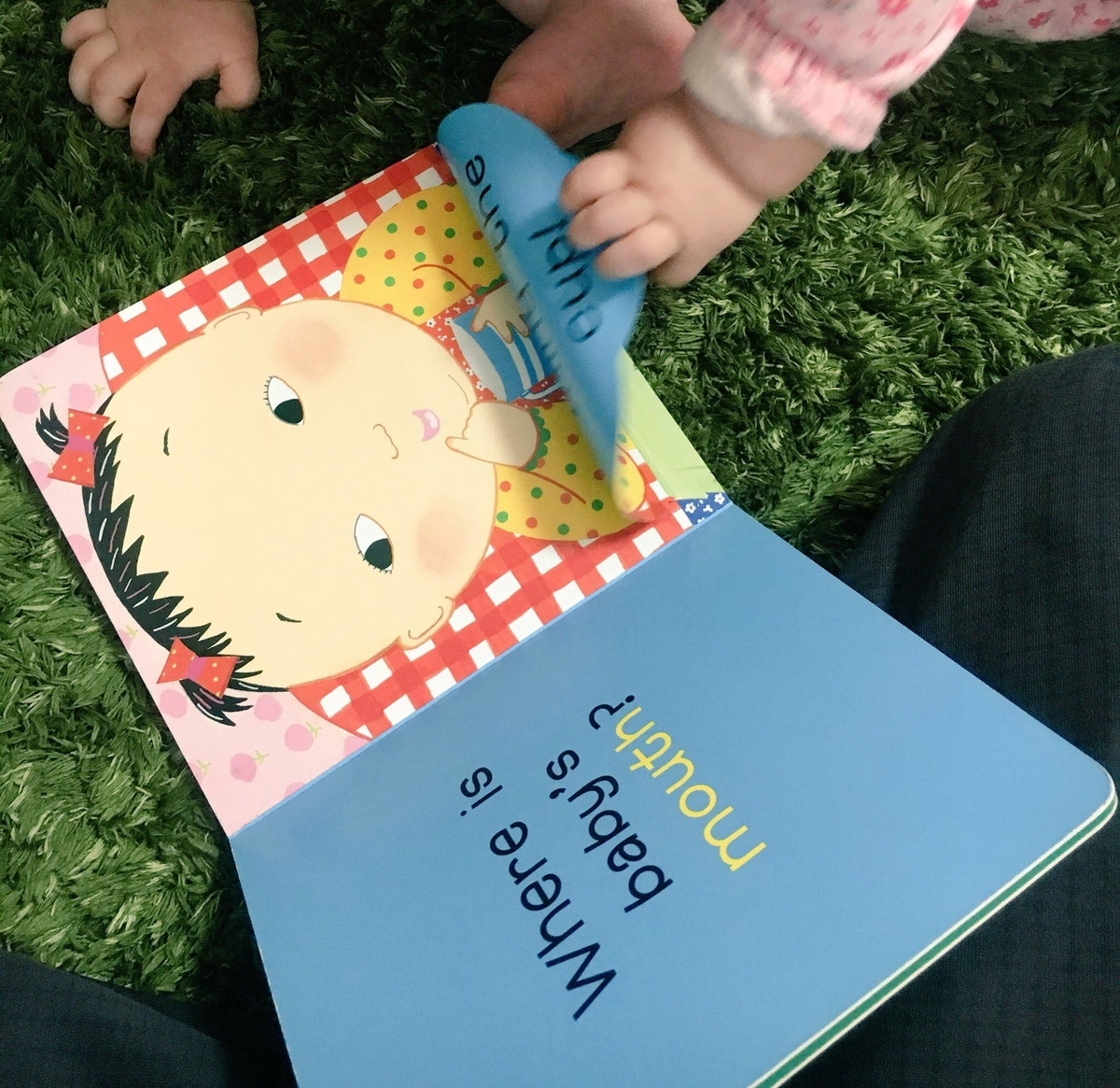 赤ちゃんも楽しめる英語の絵本♪