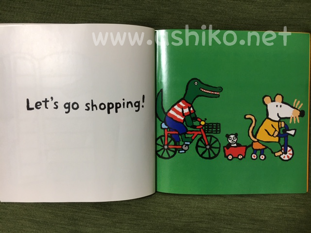 食べ物が出てくる英語絵本【Maisy】