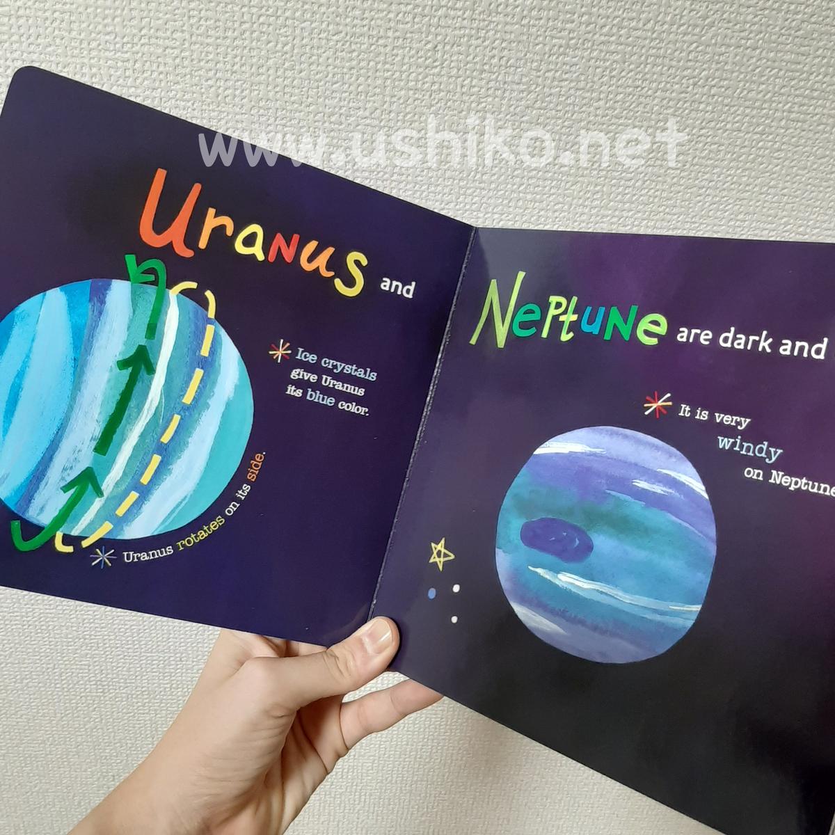 宇宙好きな子におすすめのかわいい英語絵本