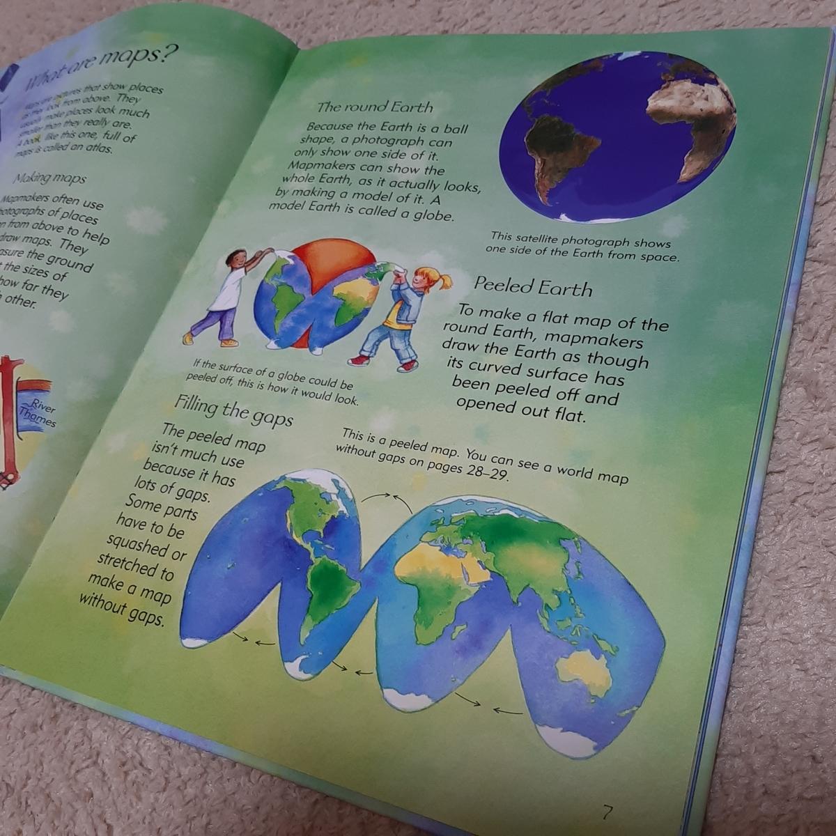 地理が好きな子どもにおすすめの知育絵本