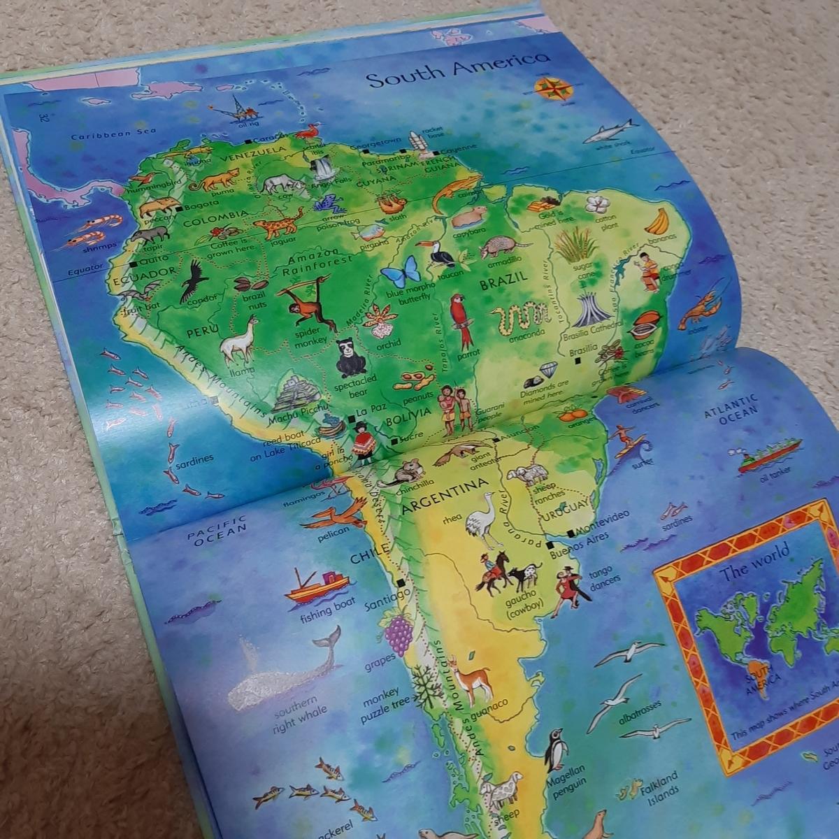 地理が好きな子どもにおすすめの英語絵本