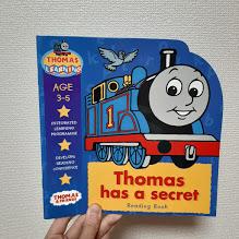 英語育児におすすめ!トーマスの英語絵本。3歳のお気に入り