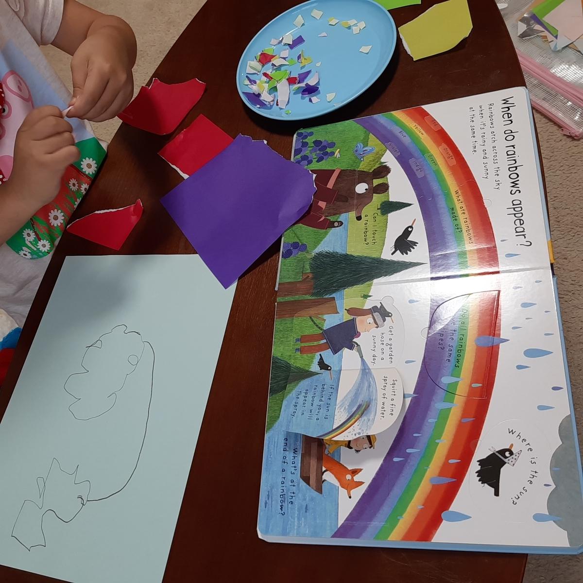 4歳児が大好きな工作