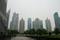 上海・浦東のビル群