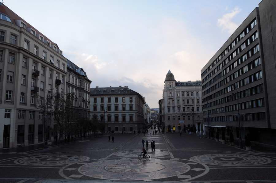 ブダペスト・聖イシュトバーン広場