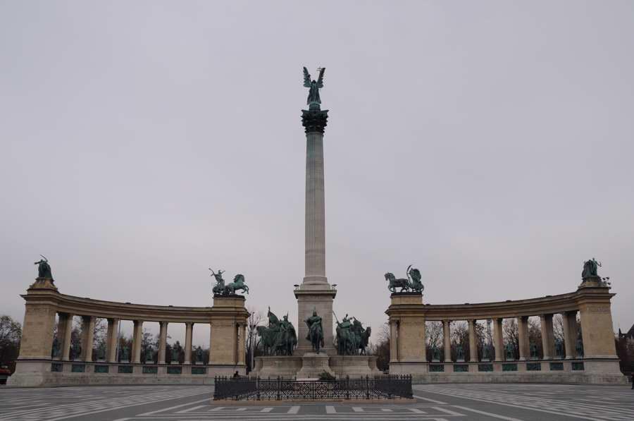 ブダペスト・英雄広場