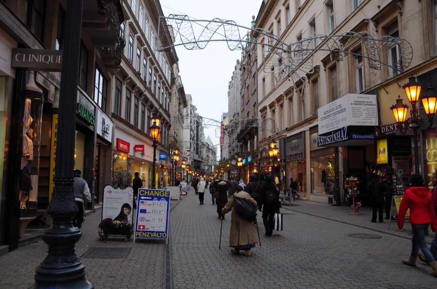 ブダペスト・ヴァーツィ通り