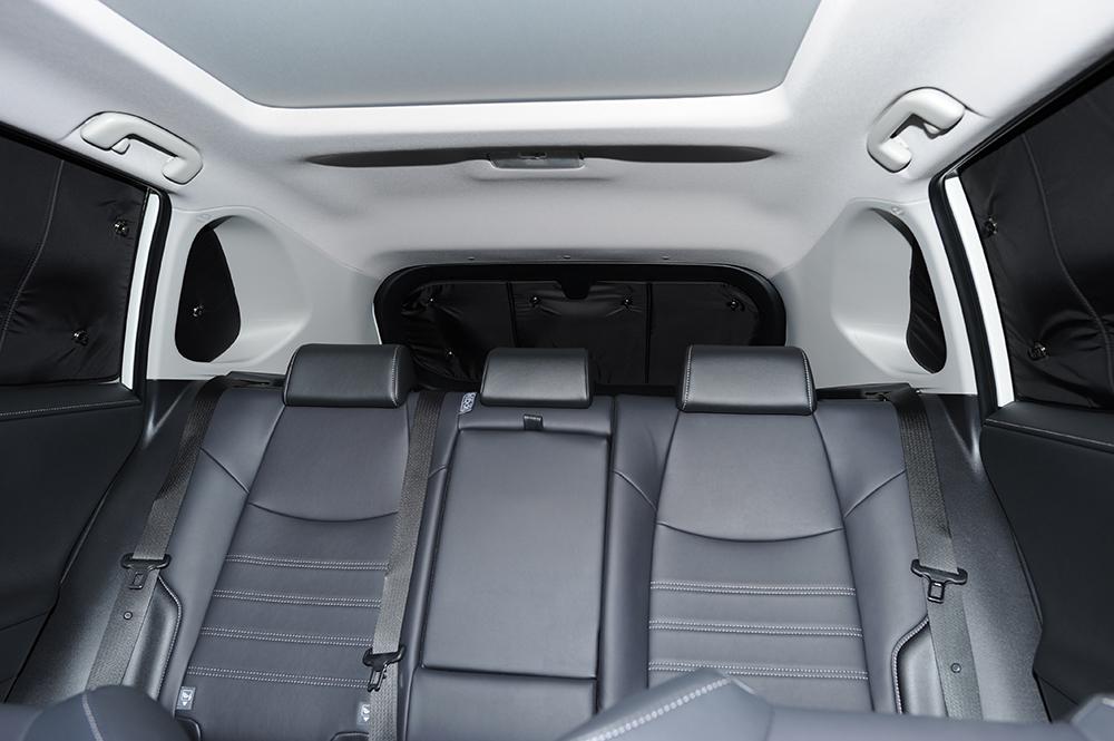 新型RAV4カーテンサンシェード