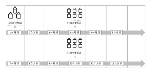 ココミスト 定期コース(2回縛り定期)のイメージ