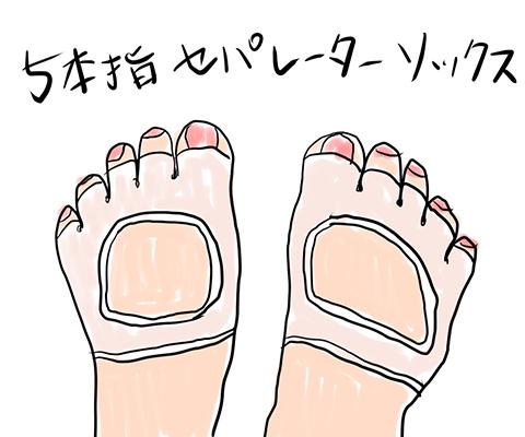手掌多汗症ラプソディ・足汗による足のニオイ対策編