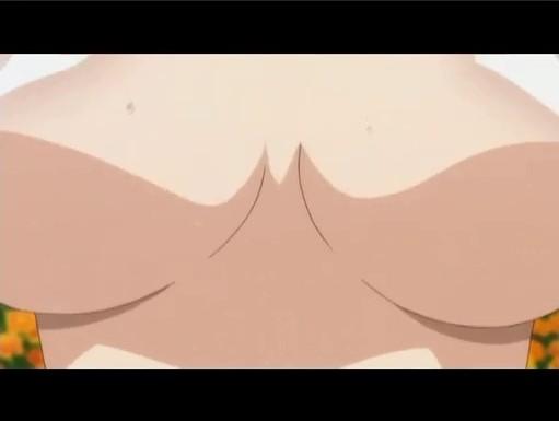 [おまもりひまり][胸チラ]