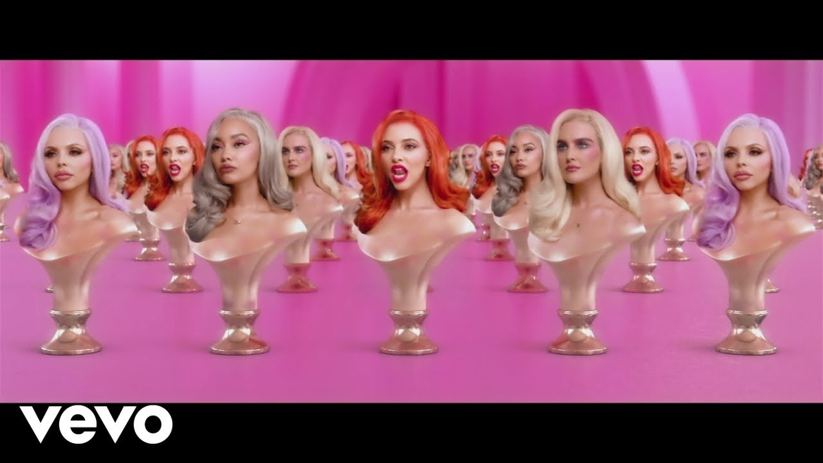 Little Mix - Bounce Backの歌詞和訳まとめ