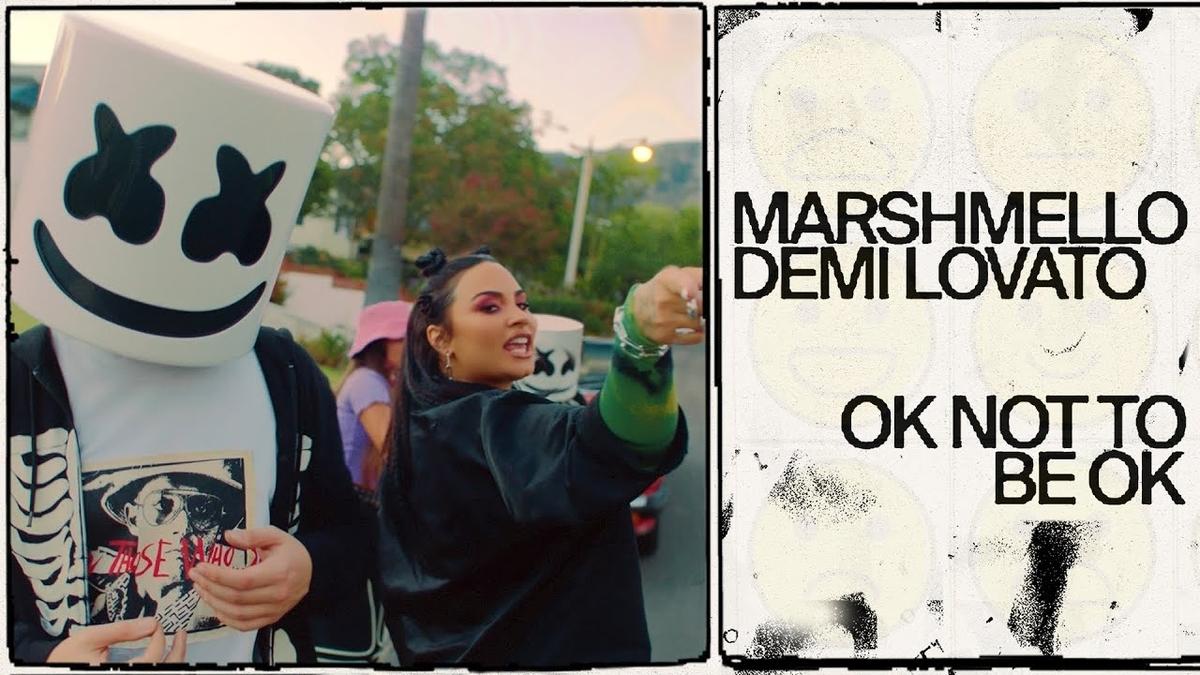 Marshmello & Demi Lovato - OK Not To Be OKの歌詞和訳まとめ