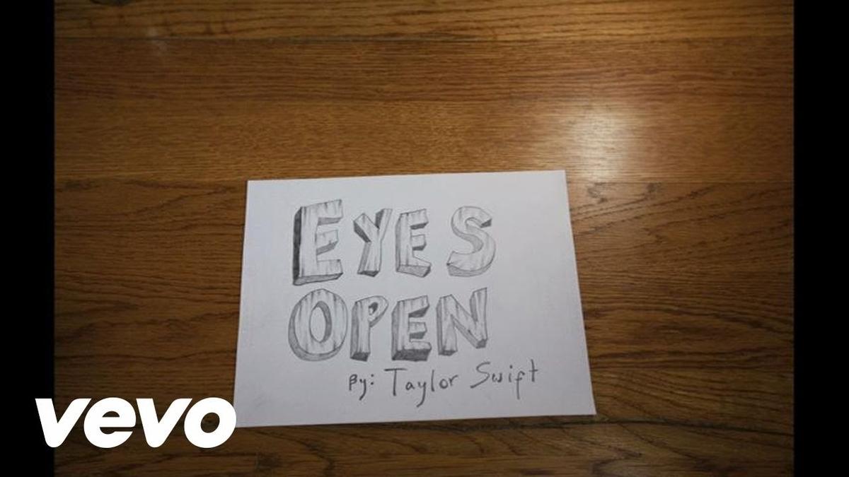 Taylor Swift - Eyes Openの歌詞和訳まとめ