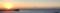 逗子、長者ヶ崎から見る夕日、富士山、江ノ島