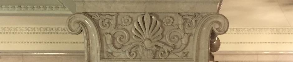 明治生命館の柱